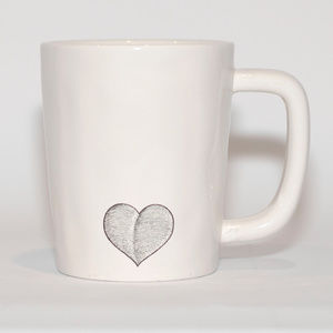 "Life Is Good ""All We Need"" Ivory Coffee Cup"